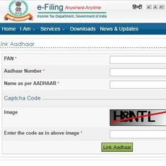 How to link Aadhaar number with PAN online or using SMS