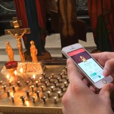 This is the Pokemon Go video in a church that earned a Russian blogger a 42-month sentence