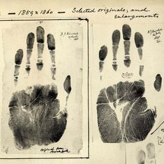 India's tryst with biometrics began back in 1858