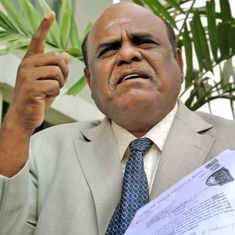 Former HC judge CS Karnan to contest Lok Sabha polls, files nomination from Central Chennai seat