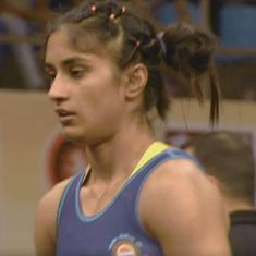 Vinesh and Ritu Phogat bag gold at Wrestling Nationals
