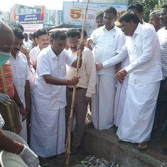 Tamil Nadu politics: What explains a senior AIADMK minister inaugurating an RSS event?