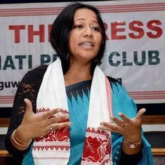 Manipur: Activist Binalakshmi Nepram says armed police entered her house and threatened her