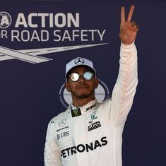 Lewis Hamilton on pole position for Spanish Grand Prix, Sebastian Vettel finishes second fastest
