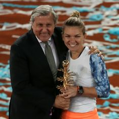 WTA slams Ilie Nastase presence as Simona Halep retains Madrid Open title