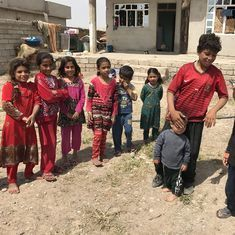 Kurd vs Arab: ISIS has been defeated here. But no one knows which country these kids now belong to