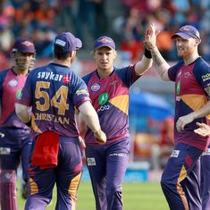 Rising Pune Supergiant crush Kings XI Punjab by 9 wickets to seal playoffs berth