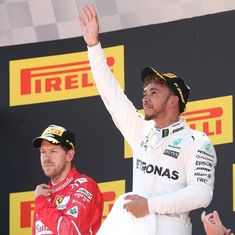 Gritty Lewis Hamilton overcomes Sebastian Vettel to win Spanish Grand Prix