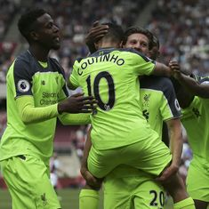 Liverpool thrash West Ham 4-0 to move a step closer to securing top-four finish