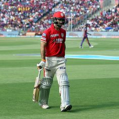 The toss had something to do with it', says Glenn Maxwell after KXIP were bowled out for 73
