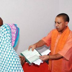 UP: Sofa, AC installed for Adityanath at deceased BSF officer's house taken away after his visit