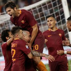 Defiant Roma keep Juventus waiting for Serie A title with 3-1 win