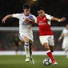 Premier League: Arsenal keep top-four hopes afloat, Manchester City all but there