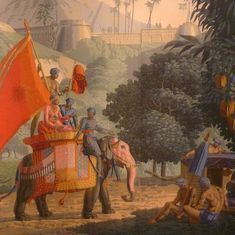 Royal companions and warriors: How elephants have been depicted in Asia's history and mythology