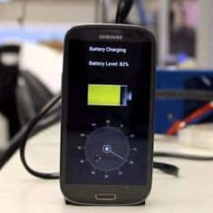 बस 5 मिनट में चार्ज होने वाली स्मार्टफोन बैटरी बनने सहित तकनीक से जुड़ी सप्ताह की तीन खबरें