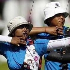 Asian C'ships: Competing under neutral flag due to India's ban, archers Atanu-Deepika bag bronze