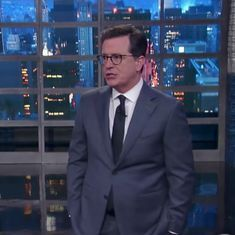 You have to watch Stephen Colbert roasting Trump for leaking classified information to Russia