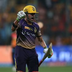 SRH v KKR, Eliminator: Kolkata's bowlers knock out Hyderabad in rainy Bengaluru