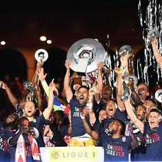 Monaco beat Saint-Etienne 2-0 to win first French title in 17 years