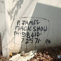 Appearing trick: P James, the mystery magician who painted his ads across Chennai, reveals himself