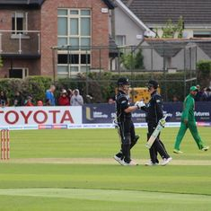 New Zealand beat Bangladesh by four wickets to notch second straight tri-series win