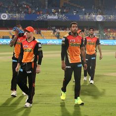 48 runs, 6 overs: The farce that knocked the defending champions Sunrisers Hyderabad out of IPL 2017