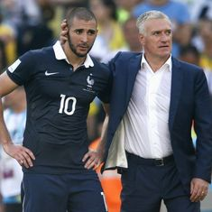 France coach Didier Deschamps lashes out at 'pitiful' Karim Benzema
