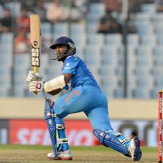 Dinesh Karthik replaces injured Manish Pandey in India's Champions Trophy squad