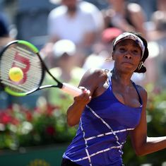 Rome roundup: Nadal advances, Wawrinka stunned, Venus overcomes Konta