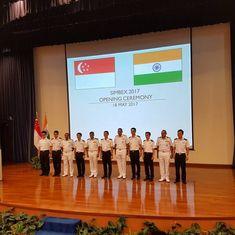 भारत-सिंगापुर के नौसैनिक अभ्यास पर चीन ने कहा – शांति और सुरक्षा में खलल न पड़ने तक सब ठीक है