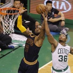 NBA Conference finals: LeBron James powers Cavs in record rout of Celtics