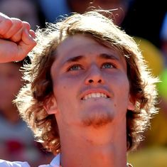 At 20, Alexander Zverev becomes youngest player in a decade to reach a Masters final