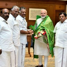 O Panneerselvam admits to discussing internal AIADMK affairs with Narendra Modi