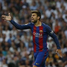 'Barcelona or no one': Pique would rather quit football than play for another club