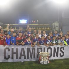 Vineeth double in extra time gives Bengaluru FC their second Federation Cup title