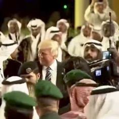 Watch: Trump seals $110 billion arms deal with Saudi Arabia with awkward dance