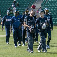Scotland make history, beat a full-strength Sri Lanka by seven wickets