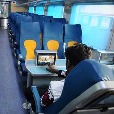 Railways' premier train Tejas Express takes its first trip between Mumbai and Goa