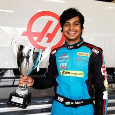 'Overwhelming to be in the Formula One paddock,' says India's first GP3 race winner Arjun Maini