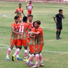 Manipur's NEROCA FC win I-League second division for the year 2017