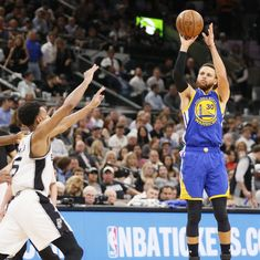 Warriors reach their third consecutive NBA Finals after Spurs clean sweep