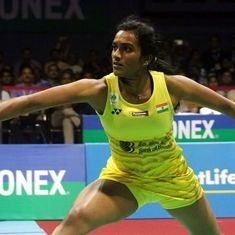 By playing soft strokes on a fast court, Sindhu stood no chance in French Superseries semis