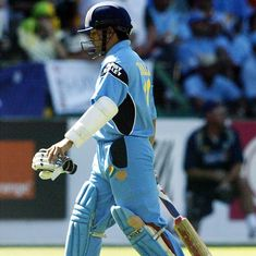 World Cup 2003 final could've been different if T20 was around then, says Sachin Tendulkar
