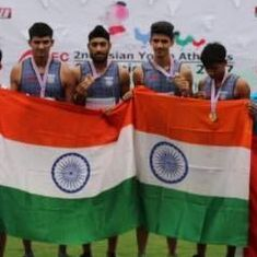 India win relay gold at Asian Youth Athletics Championships, finish with 14 medals