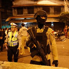 Indonesia: At least one dead in blasts at Jakarta bus station