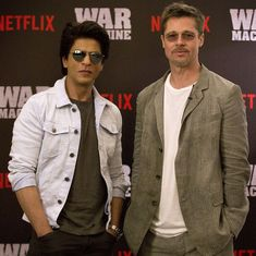 Brad Pitt meets Shah Rukh Khan in Mumbai: 'I can never do a Bollywood film because I can't dance'