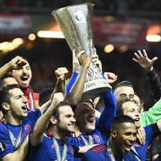 Manchester United beat Ajax 2-0 in emotional final to lift Europa League title