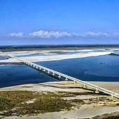 In photos: Modi will open India's longest bridge on Friday. Here's what you need to know about it