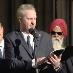 Watch: Tony Walsh delivers a stirring poem at a packed vigil for Manchester victims