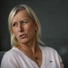 'Sick and dangerous': Martina Navratilova slams Margaret Court's 'tennis is full of lesbians' remark